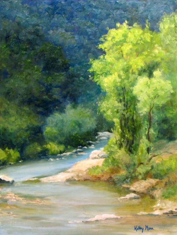 Chico's Creek by Kathy Mann