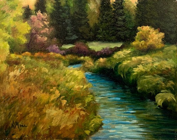Kin Coulee Stream by Kathy Mann