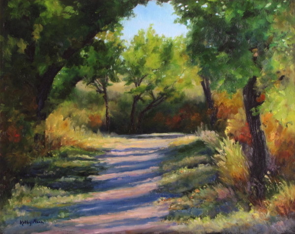 Strathcona Path ll by Kathy Mann