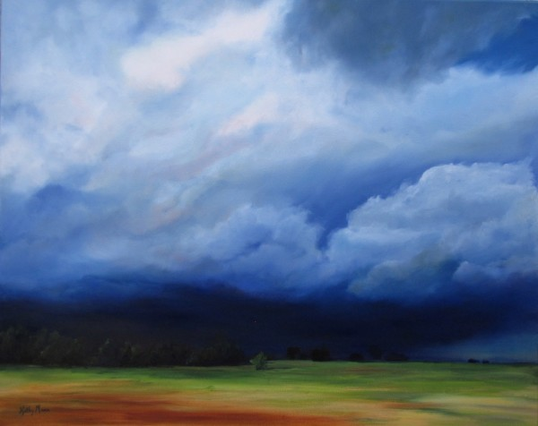 Prairie Storm - Standing Strong by Kathy Mann