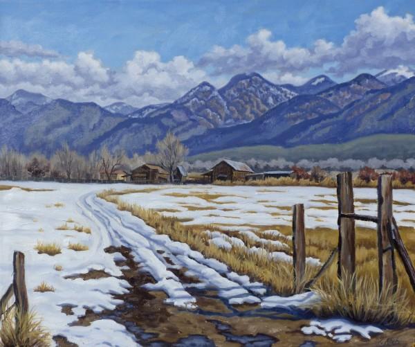 """""""El Prado, Winter"""" by Tatiana Koch"""