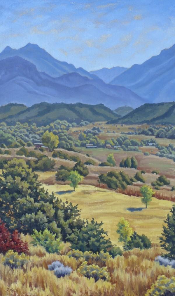 """""""Arroyo Hondo Autumn"""" by Tatiana Koch"""