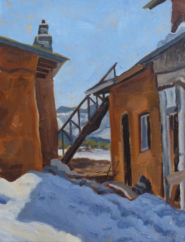 """Stairway to Nowhere"" by Tatiana Koch"