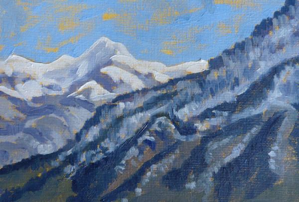 """""""Winter Mountain Morning"""" by Tatiana Koch"""