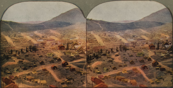 Birds Eye View of Cripple Creek, CO by Unknown