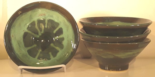 Set of four (4) Small Bowls by Dita Lewis-Panter