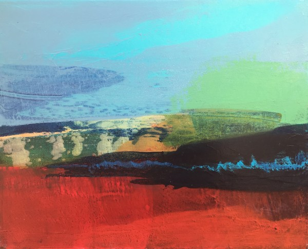 Curragh landscape 2 by Grainne Dowling