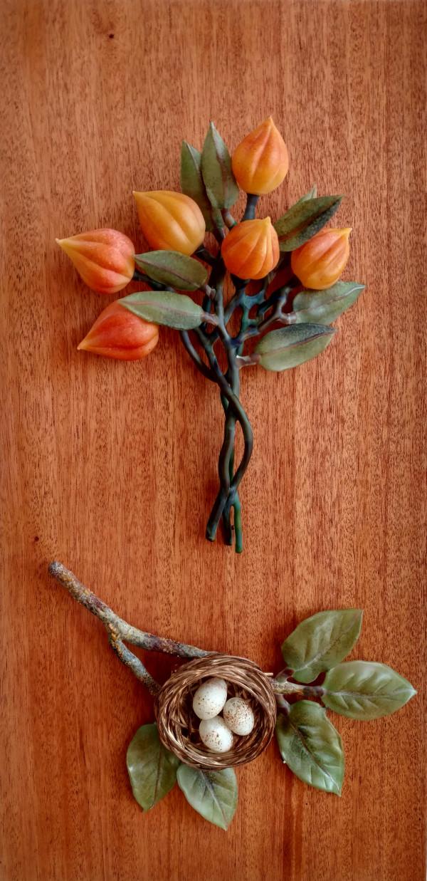 Untitled Natural Botanical by Kathleen Elliot