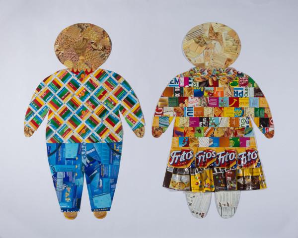 Sugar Children #6 (Fritos and M&M's skirt) by Kathleen Elliot