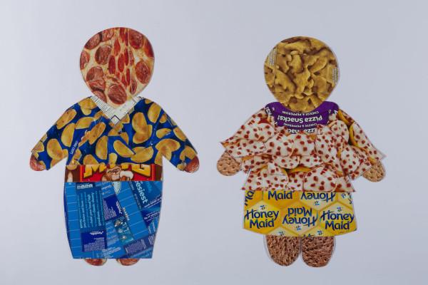 Sugar Children #5 (Fritos Shirt and Bagel Bites Blouse) by Kathleen Elliot