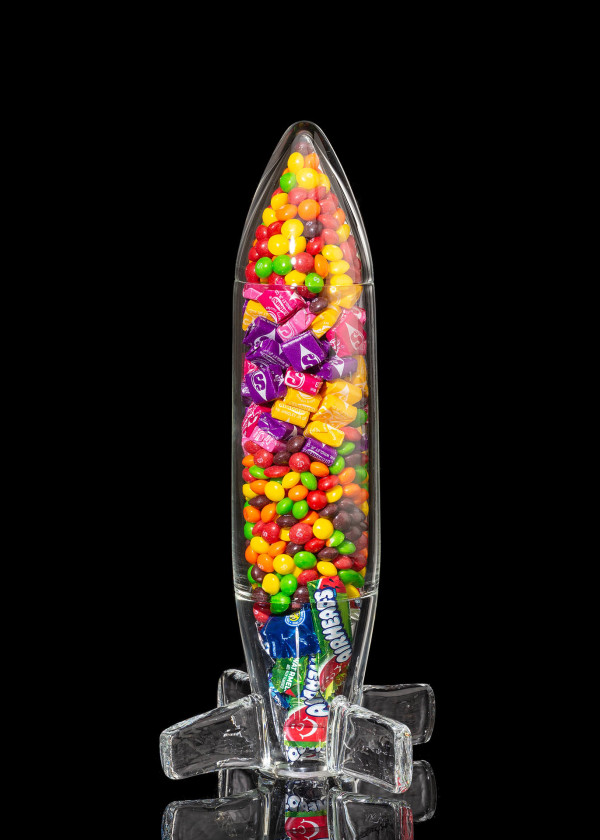 Questionable Foods, Bomb #2 (Skittles, Starburst and Airheads) by Kathleen Elliot