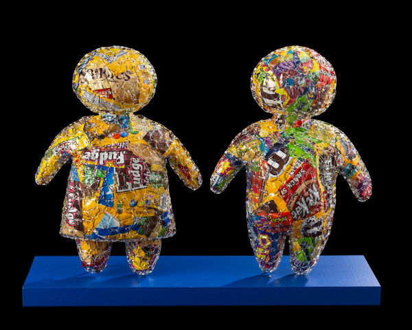 Sugar Children #9, Glass by Kathleen Elliot