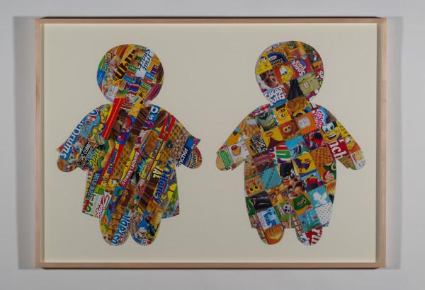 Sugar Children #10, Stripes and Squares by Kathleen Elliot