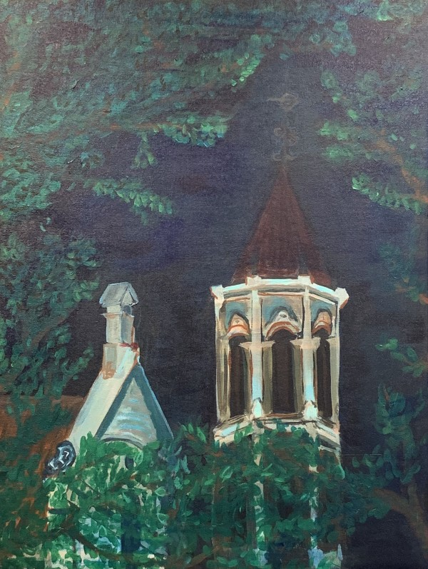 Night in St. Augustine by Pamela Bell