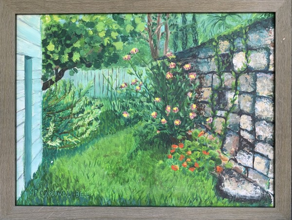 x garden St. Augustine by Pamela Bell