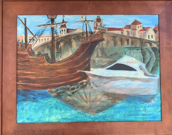 St. Augustine harbor by Pamela Bell