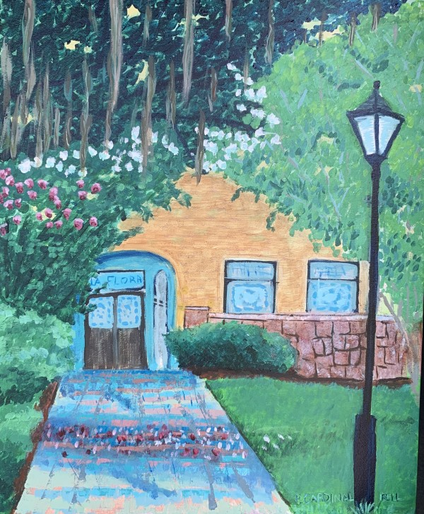 Villa Flora St. Augustine Fl by Pamela Bell
