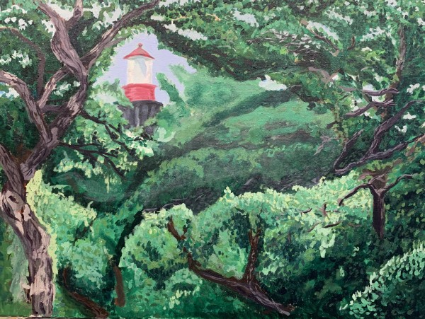 St Augustine Lighthouse by Pamela Bell