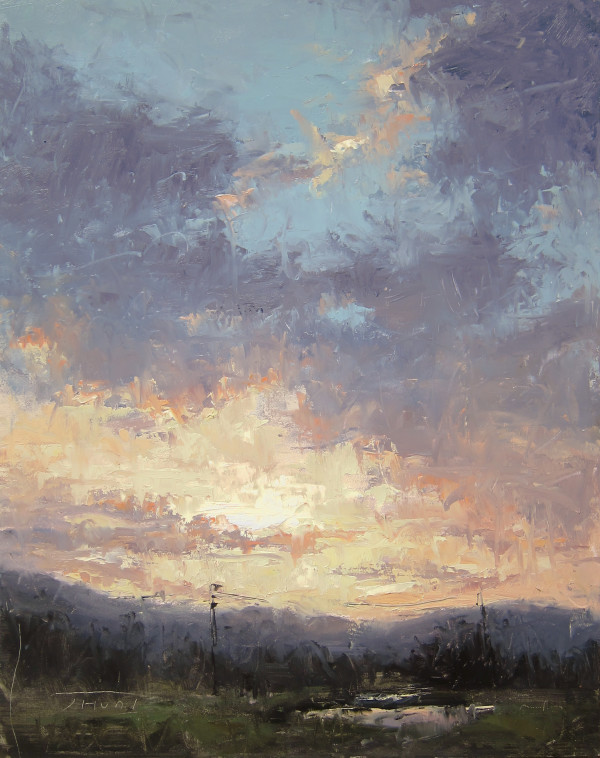 August Sunset by Jane Hunt