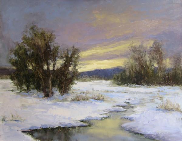 Frozen Creek by Jane Hunt