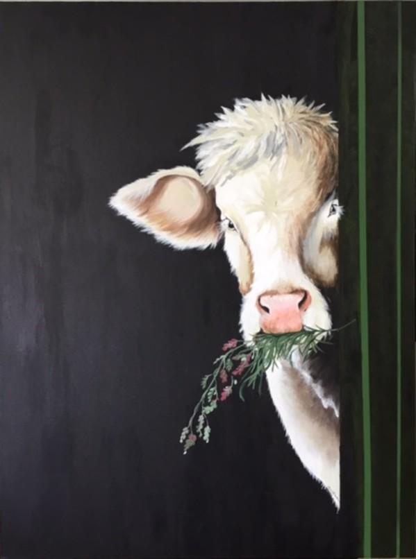 Cattle - Big Charlotte by Ann A Blake
