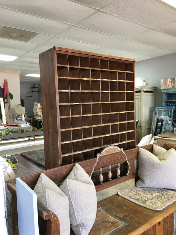 Furniture - Mail Sorter to Wine Rack by Ann A Blake