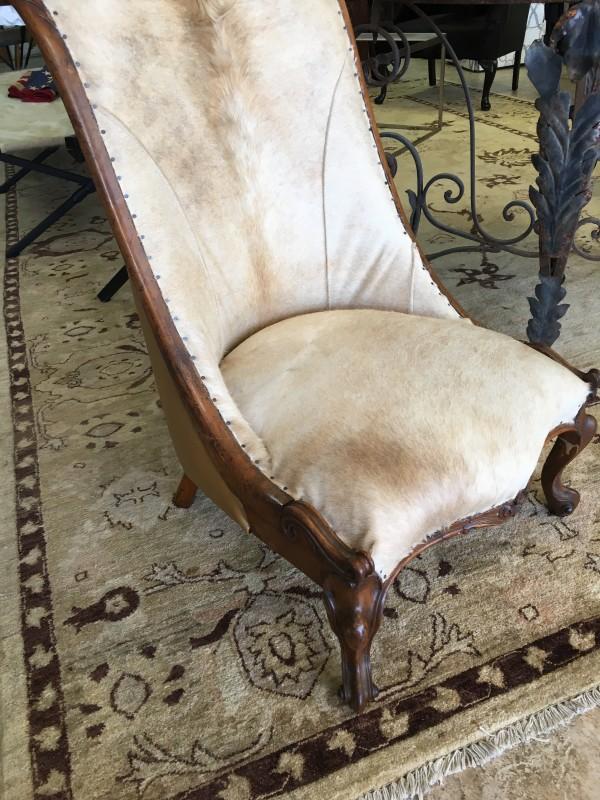 Furniture - Boot Chairs, Antique by Ann A Blake