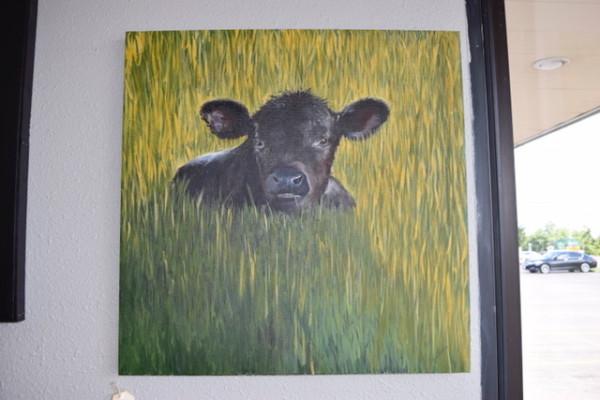 Cattle - Laurina's Bull Calf by Ann A Blake