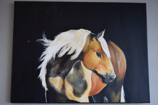 Cattle - Palomino by Ann A Blake