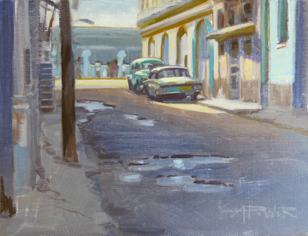 Havana Corner by Anette Power