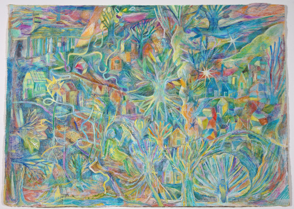 Birdsong Unravelling at the Woodland Edge by Andrea McLean