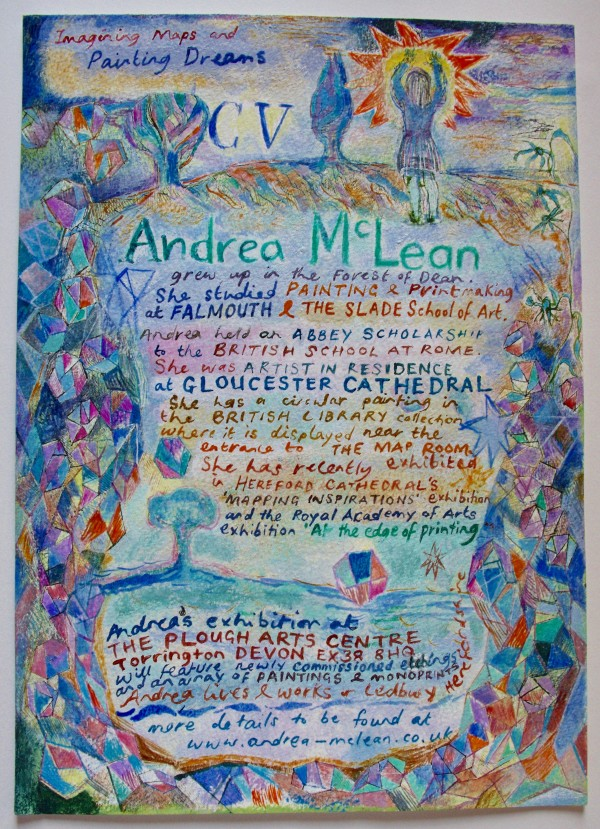 CV by Andrea McLean