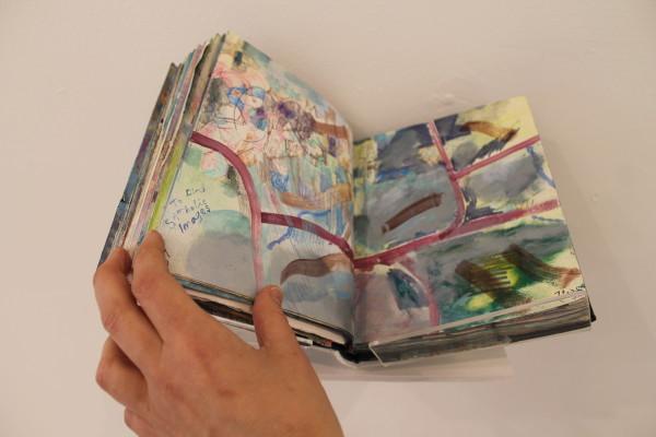 Large Sketchbook by Andrea McLean