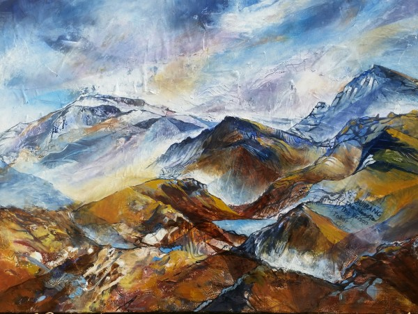 The Quiraing, Permeable Boundaries by Julie Arbuckle