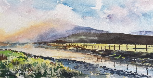 Dalwhinnie Early Morning by Julie Arbuckle