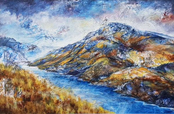 Ben Lomond from Beinn Dubh by Julie Arbuckle