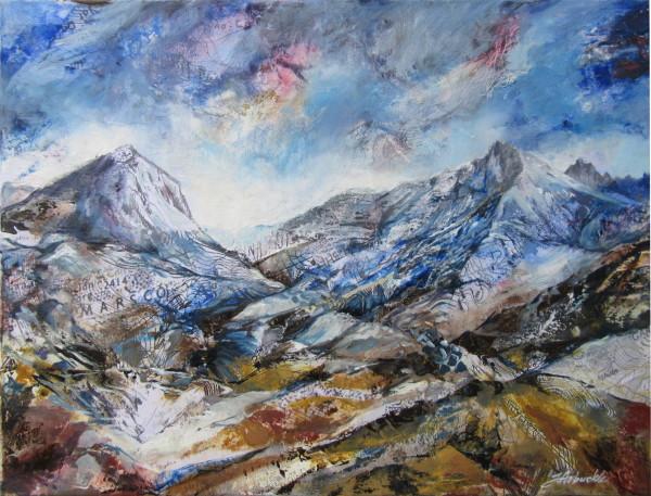 Cuillin Rising, Sligachan by Julie Arbuckle