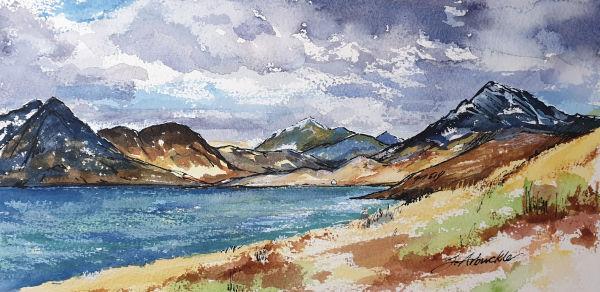 Loch Scavaig from Elgol by Julie Arbuckle