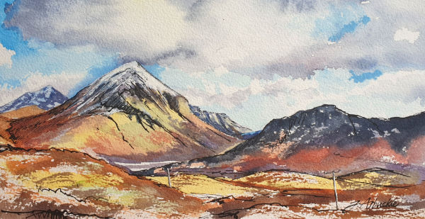 Marsco, Isle of Skye by Julie Arbuckle