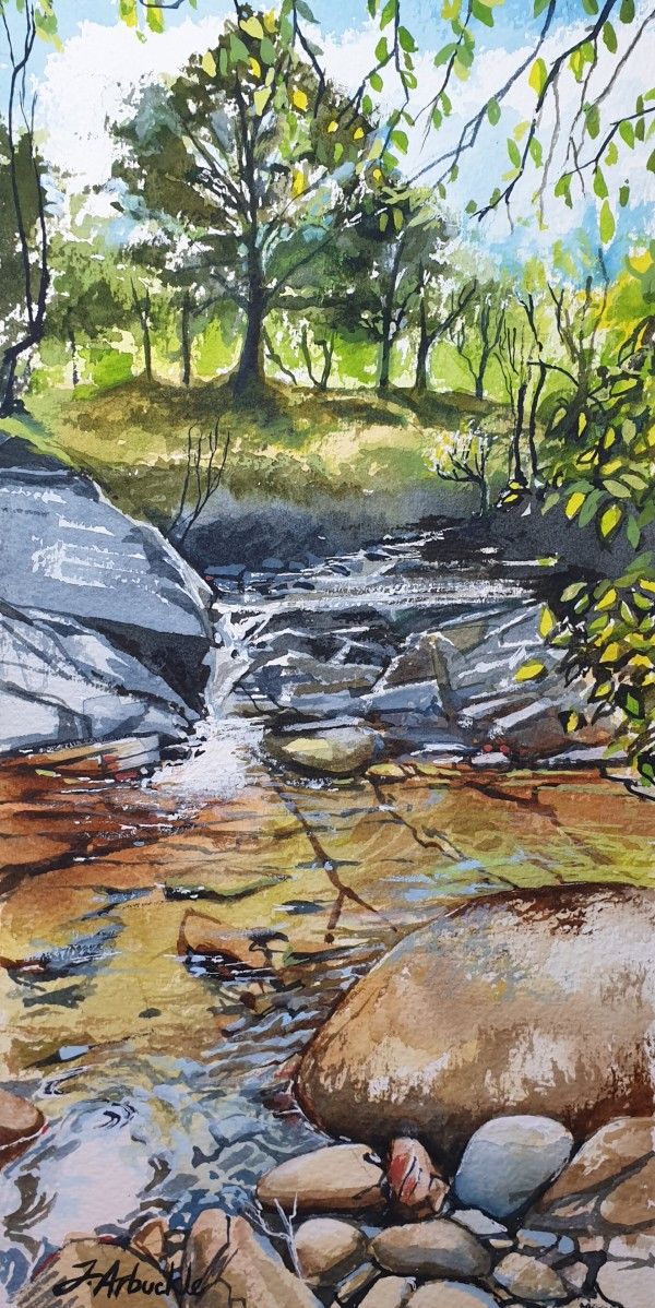River Fillan by Julie Arbuckle