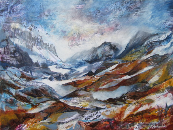 The Quiraing : Interference  by Julie Arbuckle