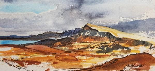 Trotternish Ridge by Julie Arbuckle