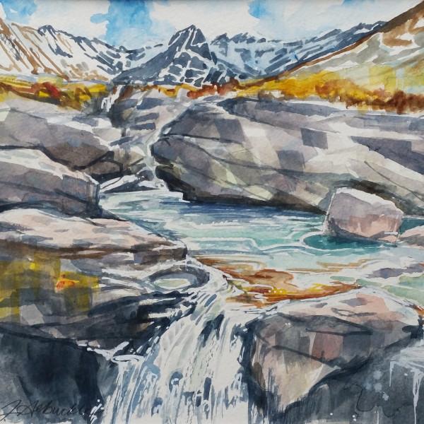 Fairy Pools, Isle of Skye by Julie Arbuckle