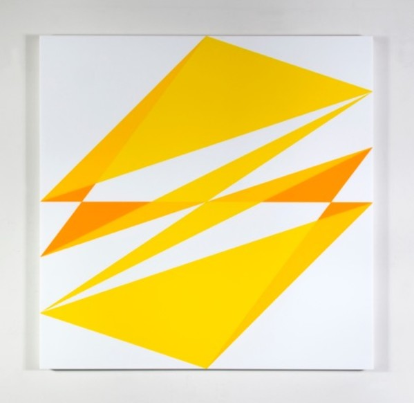 Composition in 2037 Yellow, 2465 Yellow, 2016 Yellow and 7508M White by Brian Zink