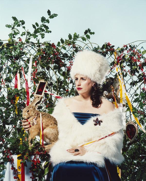 Rosemary with Holly by Neeta Madahar
