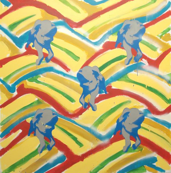 Rainbow Strips by Simon Boyd
