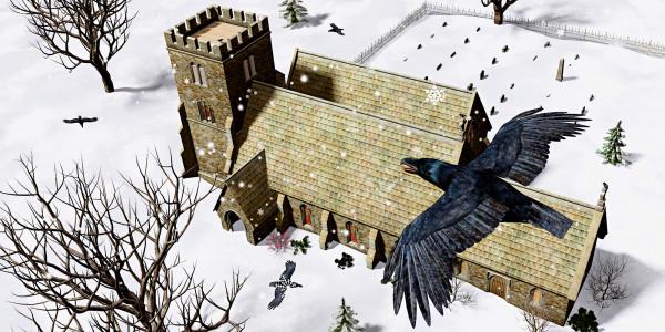 Church Ravens by Peter J Sucy Digital Arts
