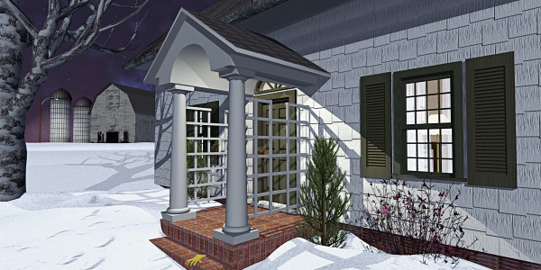 Leave the Porch Light On by Peter J Sucy Digital Arts