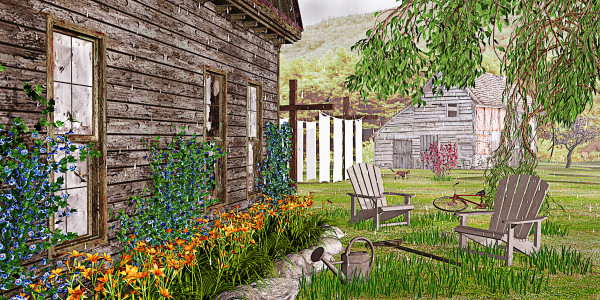 The Chicken Coop by Peter J Sucy Digital Arts
