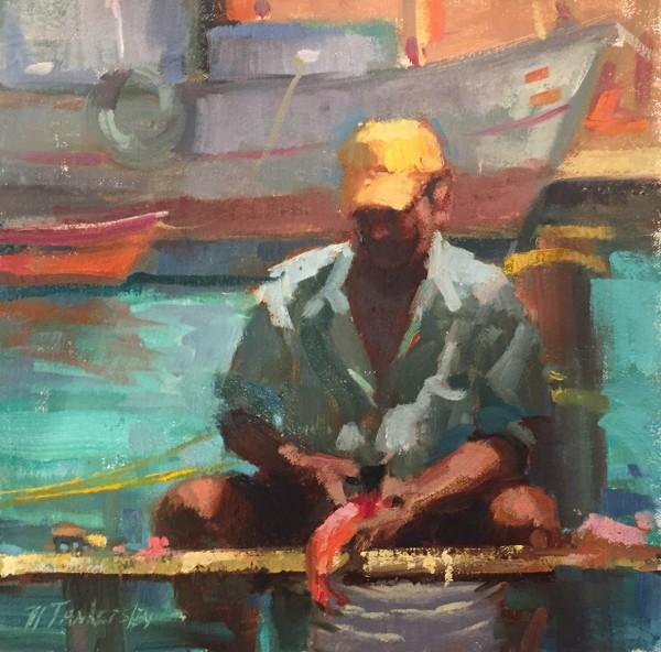 Caribbean Fisherman by Nancy Tankersley